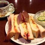 茶屋町にある珈琲の森はミックストーストサンドセットがおすすめ 梅田「喫茶 珈琲の森」